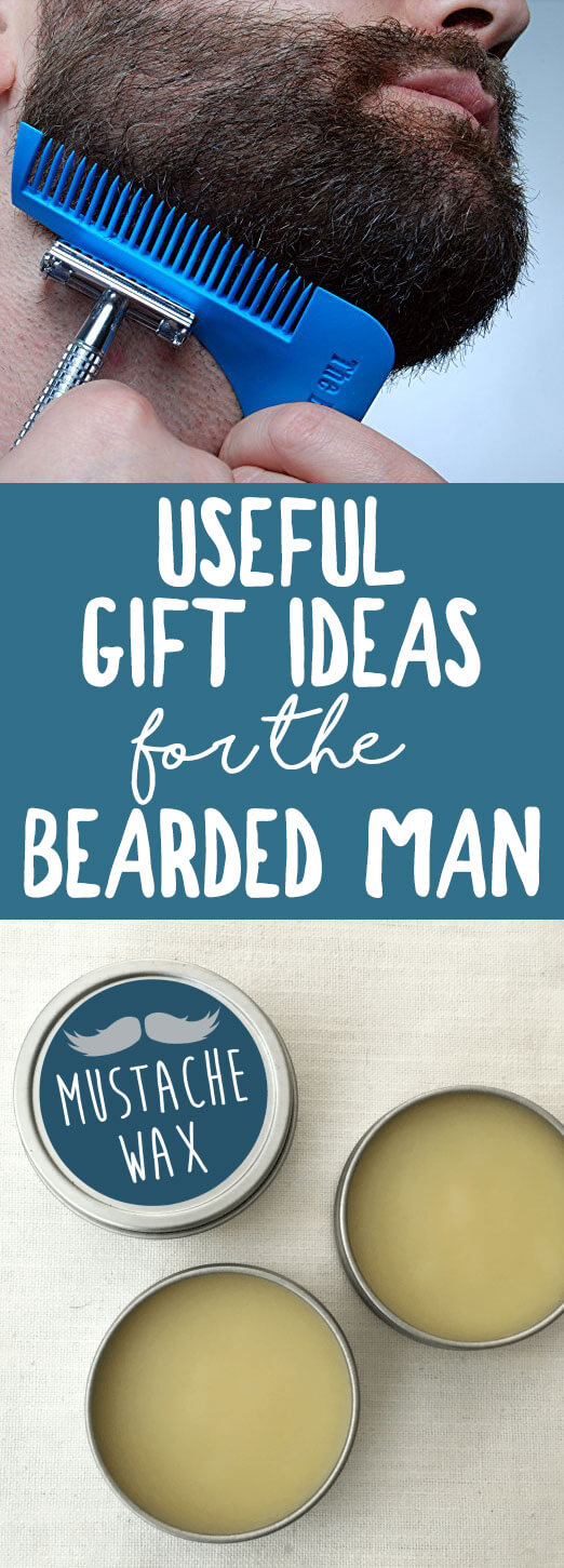 Gift Ideas for the Bearded Man (that he will actually use and love!) | karissasvegankitchen.com