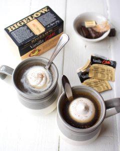 Vanilla Chai Tea Infused Whipped Coconut Cream