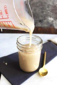 2 Ingredient Vegan Sweetened Condensed Milk