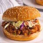 High-protein vegan sloppy joes