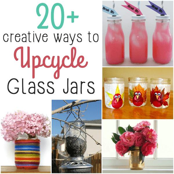Creative Ways to Upcycle Glass Jars