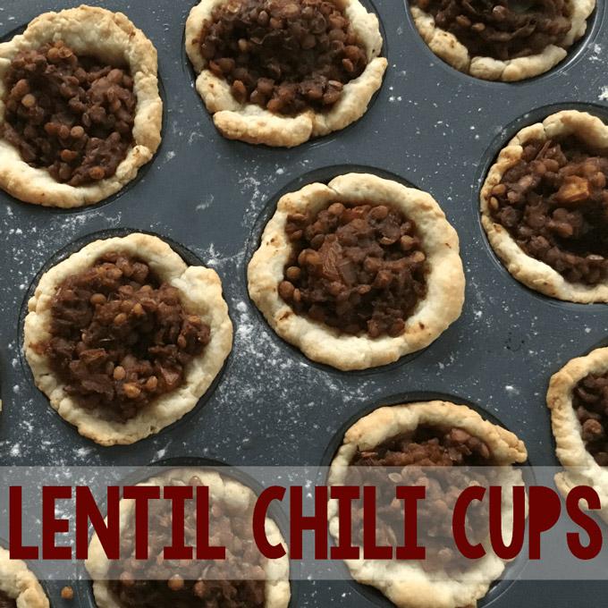 Lentil Chili Cups