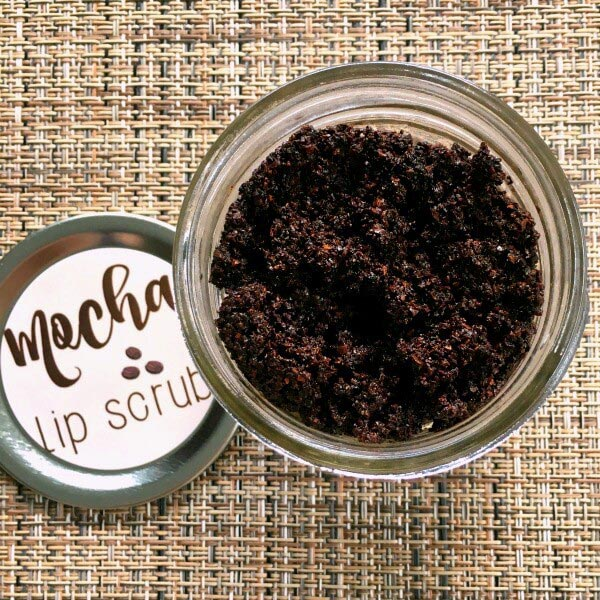 DIY Mocha Lip Scrub