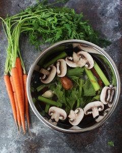 Instant Pot Vegetable Stock