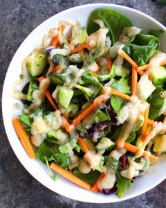 Low-Fat Ranch – using cauliflower! (vegan)