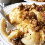 Vegan Breakfast Recipe: Sausage Gravy and Biscuits