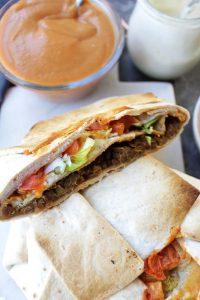 Healthier Homemade Vegan Crunchwrap