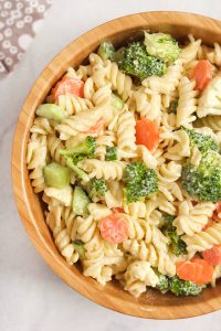 Easy Vegan Ranch Pasta Salad