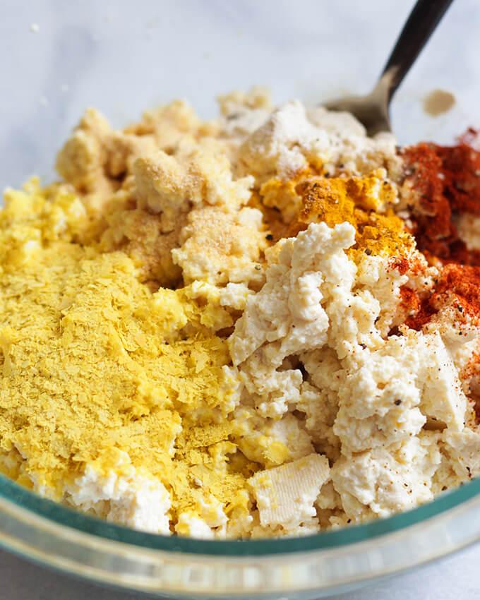 Tofu Scramble - vegan breakfast idea