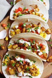 Easy Vegan Breakfast Tacos