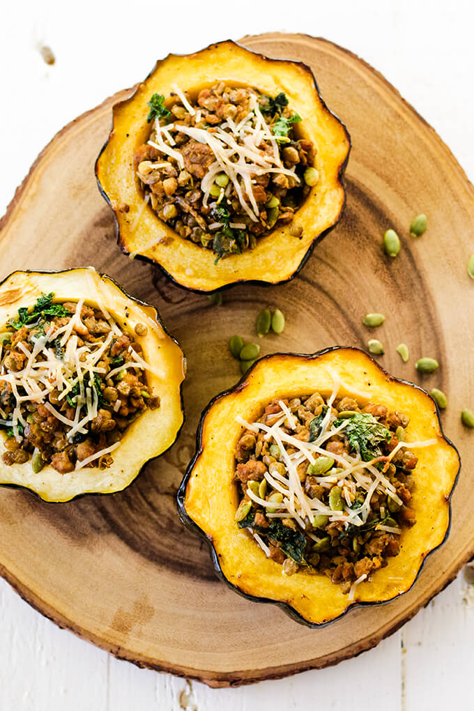 vegan stuff acorn squash