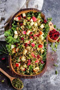 Apple Lentil Salad
