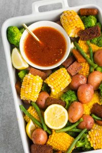 Cajun-Inspired Vegan Boil