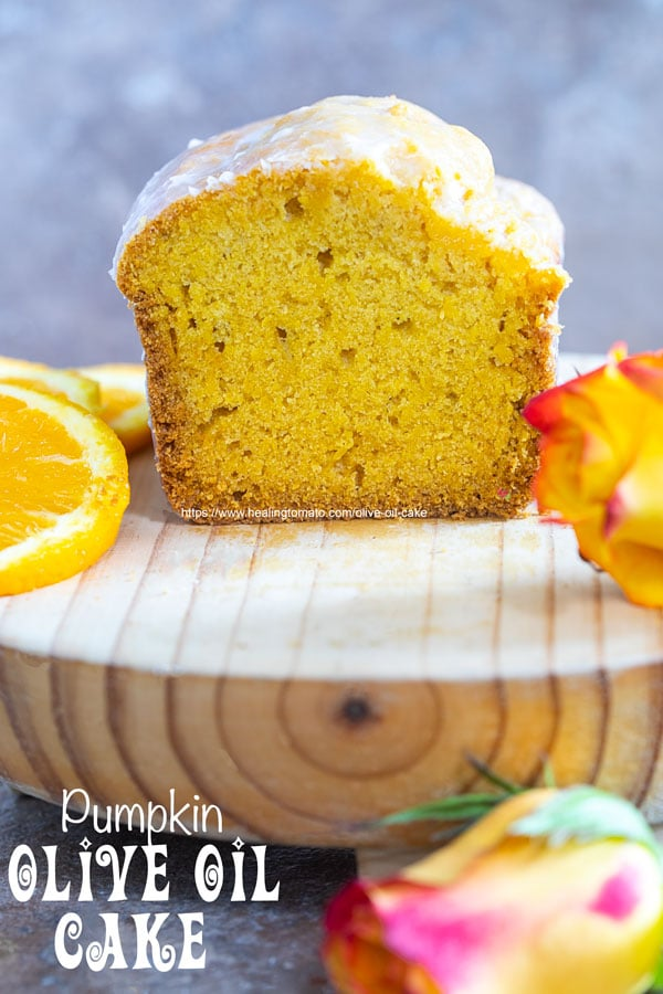 Olive Oil Cake with Pumpkin