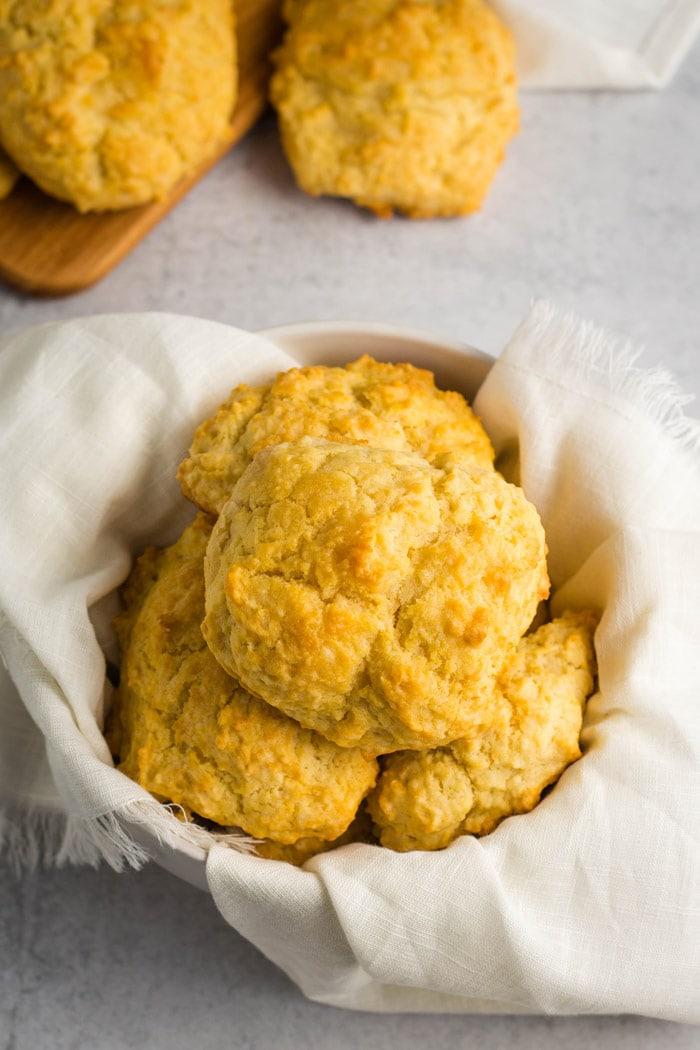 Easy Vegan Drop Biscuits