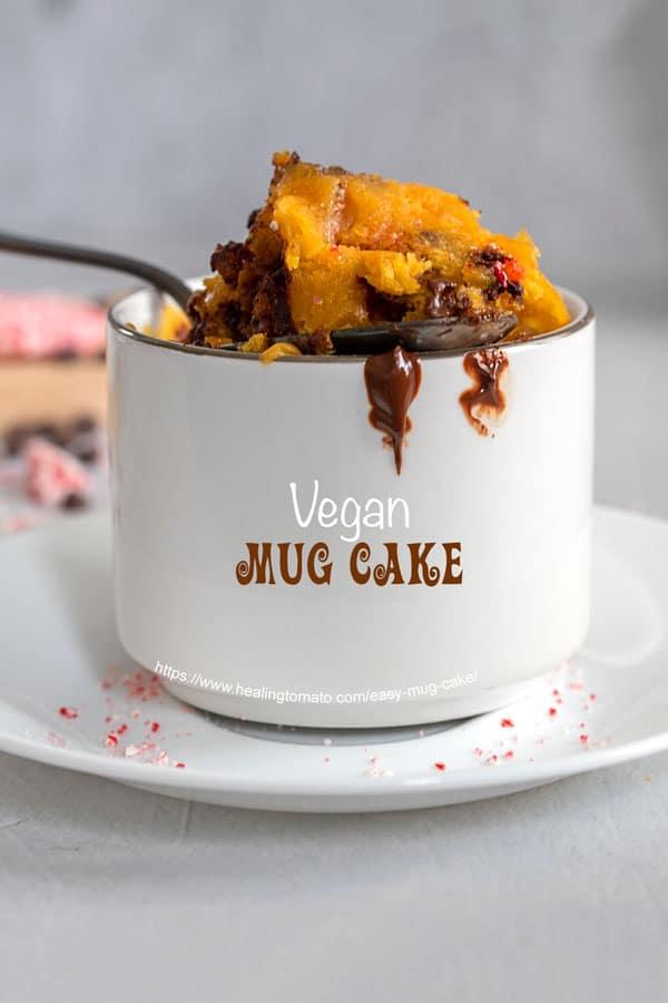 Easy Mug Cake (Vegan)